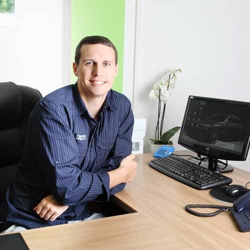 Christopher Stettner vom Fachpflegeteam Elai