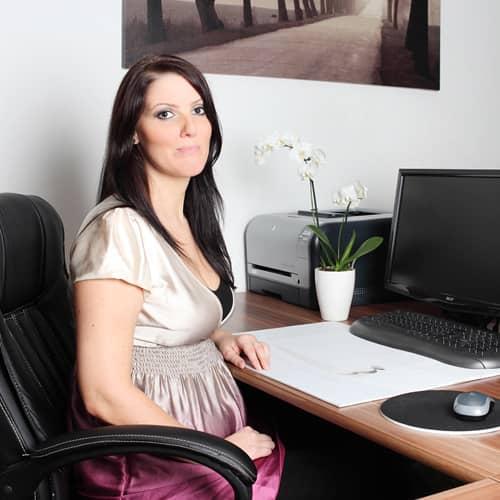 Katharina Valentin vom Fachpflegeteam Elai